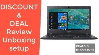 "Acer Aspire 1 A114-32-C1YA 14"" Full HD, Intel Celeron N4000 REVIEW DEAL DISCOUNT SALE UNBOXING SETUP"