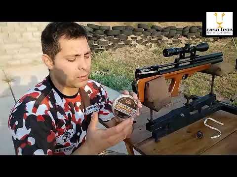 Review Rifle PCP FOX P15 Cal.6.35