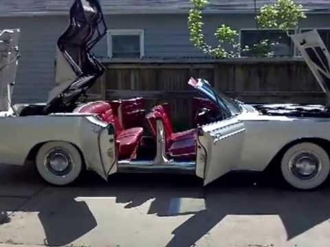 66 Lincoln 4 Door Convertible Walkaround Youtube
