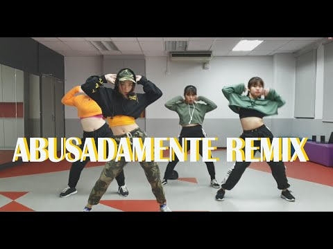 Abusadamente Remix - MC Gustta e MC DG | Choreography by May J Lee | Dance cover by INTI DAC