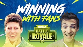 Winning With Fans #3!! - Fortnite Battle Royale Gameplay - Ninja