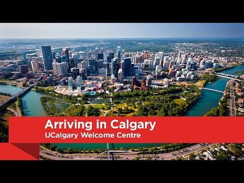 UCalgary Welcome Centre: Arriving in Calgary
