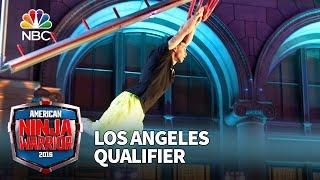 Flip Rodriguez at the Los Angeles Qualifier - American Ninja Warrior 2016