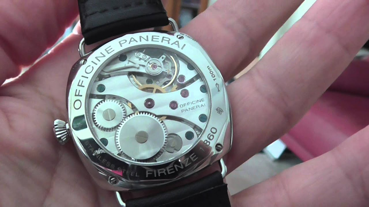Officine Panerai Pam 210 Radiomir Youtube