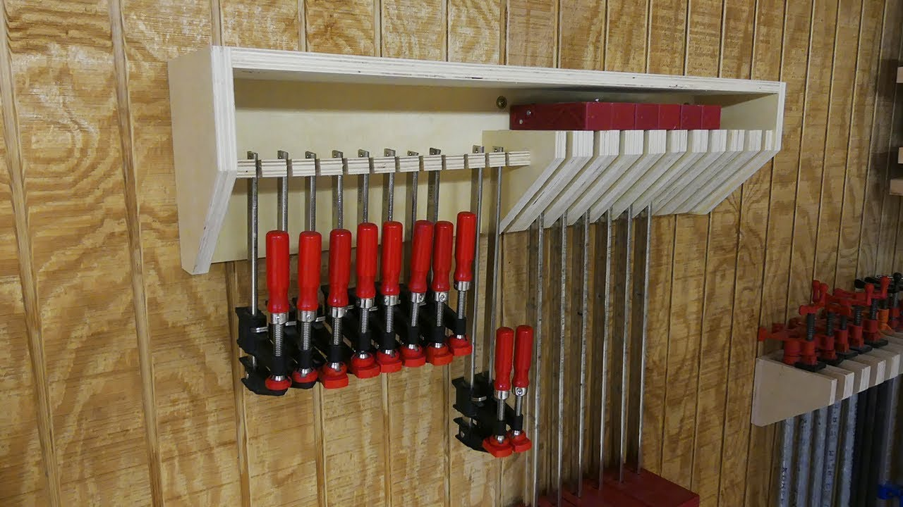 The Clamp Rack A Woodworkers Must Have Free Plans Youtube