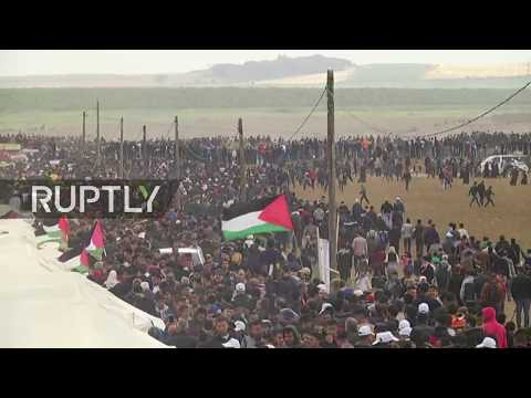 LIVE: Palestinians hold 'March of Return' protest in Gaza Strip amid fears of violence