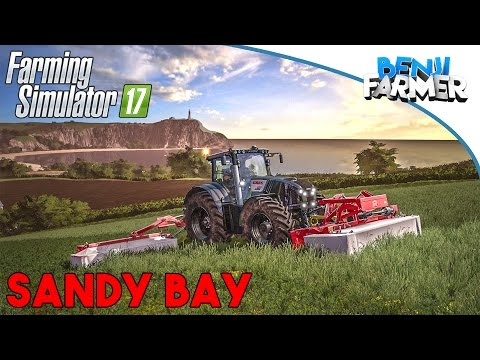 Farming Simulator 17   Sandy Bay   Direction l'Angleterre !