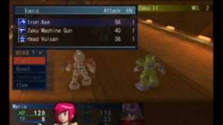 MS Saga A New Dawn Boss Battle 1