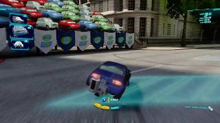 Cars 2: The Video Game | Rod 'Torque' Redline - Buckingham Sprint! | WhitePotatoYT!