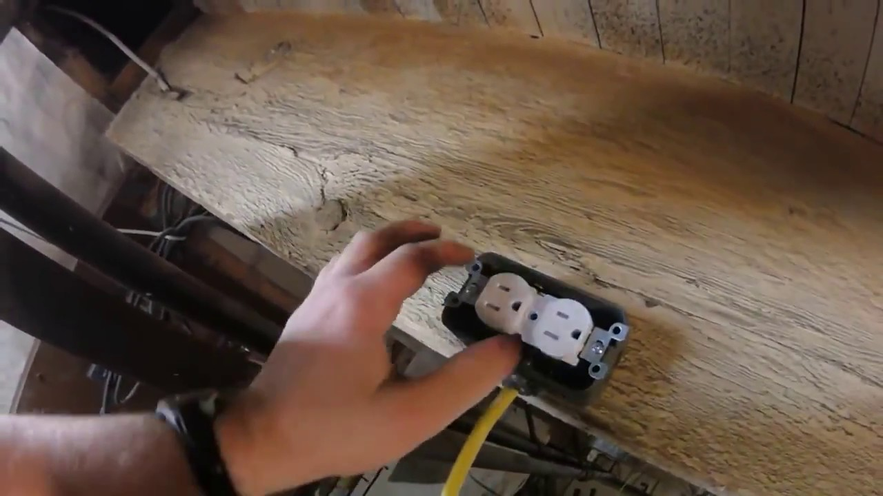 Diy How To Install A Second Electrical Outlet From Your Existing Can I Use Romex In My Unfinished Detached Garage Or Step By