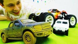 МАШИНКИ и гонки для мальчиков! ГОНКИ на внедорожниках! Багги - крутые игрушки машинки!(Мы снова на трассе! Устраиваем гонки для мальчиков на внедорожниках! Участвуют машинки: Форд Раптор и ТИГР!..., 2016-10-07T18:11:19.000Z)