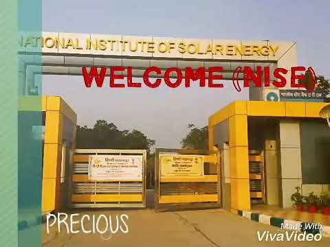NATIONAL INSTITUTE OF SOLAR ENERGY BATCH-7