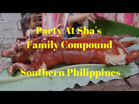 Party At Sha's Family Compound 1-Month Before Martial Law, Southern Philippines