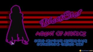 Blackstar - Agent of Justice gameplay (PC Game, 1995)