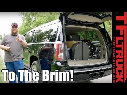 2018 GMC Yukon XL - You Won't Believe How Much Stuff Fits: Canucks & Trucks