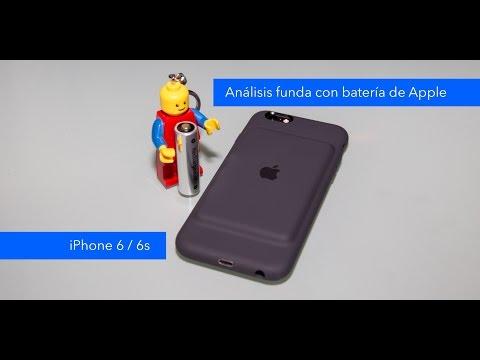 48f1259a473 Unboxing y análisis funda con batería de Apple para iPhone 6 y 6S - YouTube