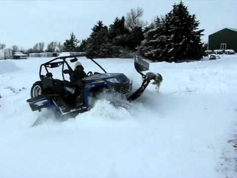 Arctic Cat Wildcat Trail Snow Plow