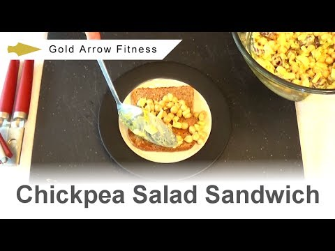 Chickpea Salad Sandwich – Vegan Recipe