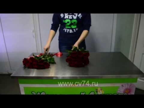 """АКЦИЯ! Букет """"25 роз Кения"""" 1000р. - доставка цветов и букетов в Челябинске"""