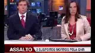 Milheirós de Poiares na televisão, Gang do Multibanco