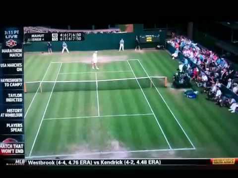 Wimbledon 2010 - Longest Match Ever, Longest Tennis Match i