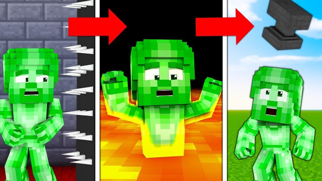 10 SPOSOBÓW NA TORTURY ZIELONEGO STEVE!!! – Minecraft Doświadczenie #1