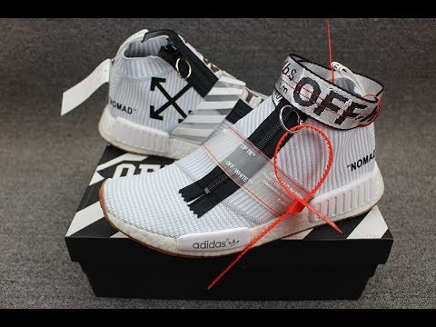 df440770d Off White x Adidas NMD City Sock HD review from kicksok.net - YouTube