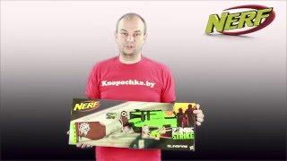 видео Нерф (Nerf) зомби страйк слингфайр