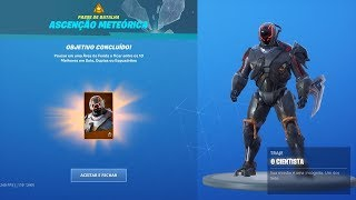 "CHALLENGES ""METEORIC RISE"" TO RELEASE THE ""SCIENTIST"" SKIN, THE VISITOR V2! Fortnite"