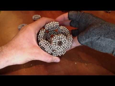 Dodecahedron using 1920 (zen magnets)