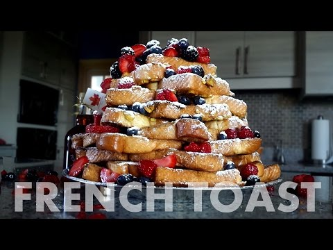 Epic French Toast (Food Challenge)