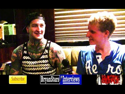 Suicide Silence Interview #2 Mitch Lucker & Dan Kenny 2012