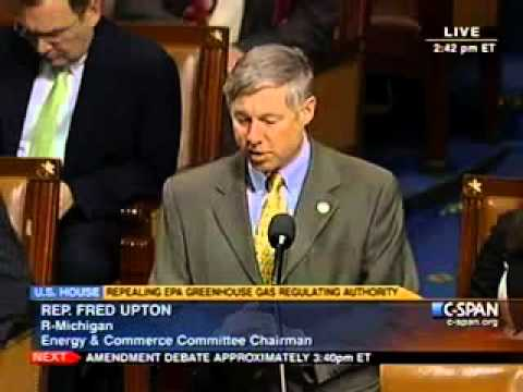 Upton Commences Debate on Energy Tax Prevention Act, H.R.910