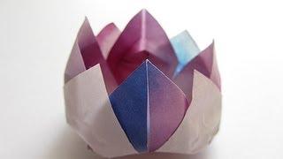 Origami Traditional Lotus