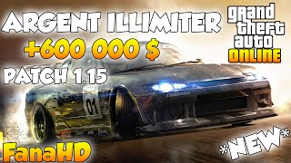 Glitch Argent Illimiter Sur Gta Online 1.15 ! Unlimited Money Glitch After Patch 1.15 !