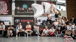 bboy 1on1 final b mouth vs willy roc 2017 toyota boty taiwan