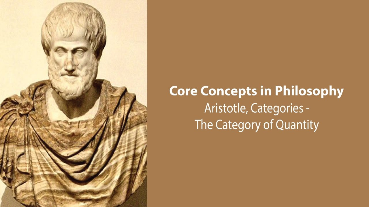 the categories of aristotle The categories (greek κατηγορίαι katēgoriai lat categoriae) is a text from aristotle's organon that enumerates all the possible kinds of things that can.