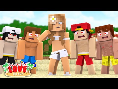Minecraft LOVE ISLAND - LITTLE CARLY IS GONE BUT SCUBA STEVE LIKES THE NEW GIRL MILEY