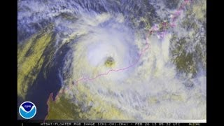 Severe Tropical Cyclone Rusty / 17S (2013)