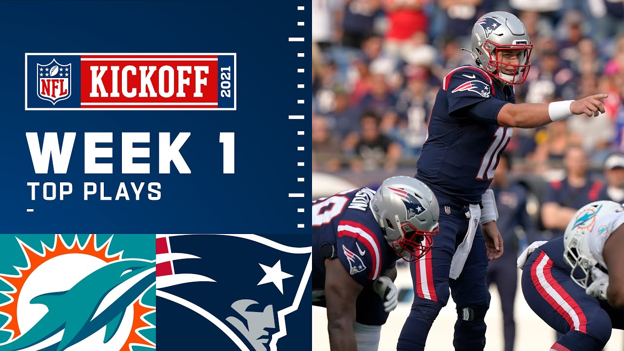 Patriots Top Plays from Week 1 vs. Dolphins   New England Patriots
