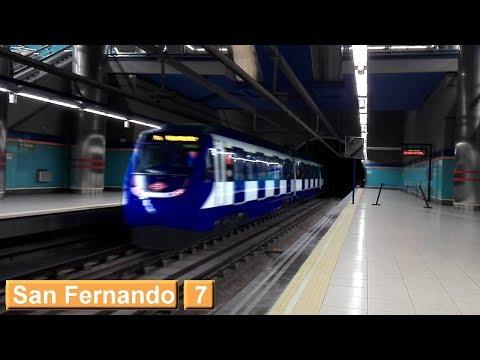 San Fernando L7 : Metro de Madrid ( Serie 9000 )