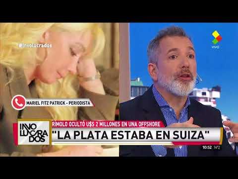 Escándalo: Giselle Rímolo ocultó U$S 2 millones en una offshore