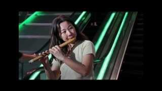Playing Flute in Sentosa, Singapore - South Indian Classical, Carnatic