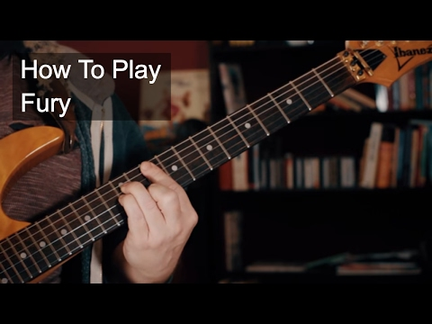 Fury Chords - Prince Guitar Tutorial