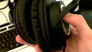Audio Technica ATH-M50 Unboxing