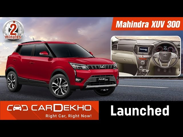 New Mahindra Xuv300 Price In Lucknow View 2019 On Road Price Of Xuv300