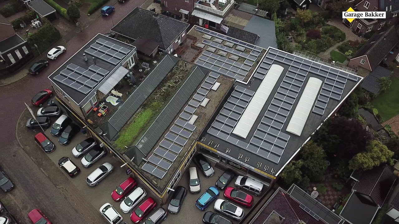 Garage Bakker Apeldoorn : Zonnepanelen garage bakker youtube