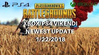 PUBG XBOX/PS4 NEWEST UPDATE 1/21/2019 - VIKENDI, NEW PARACHUTE SYSTEM, BUG FIXES & MORE!