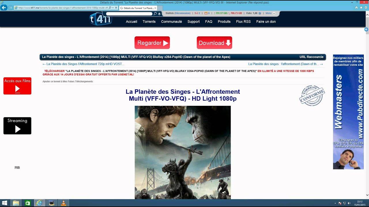 T411 et freebox youtube for Bloquer fenetre pub