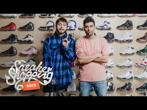 Post Malone Goes Sneaker Shopping With Complex
